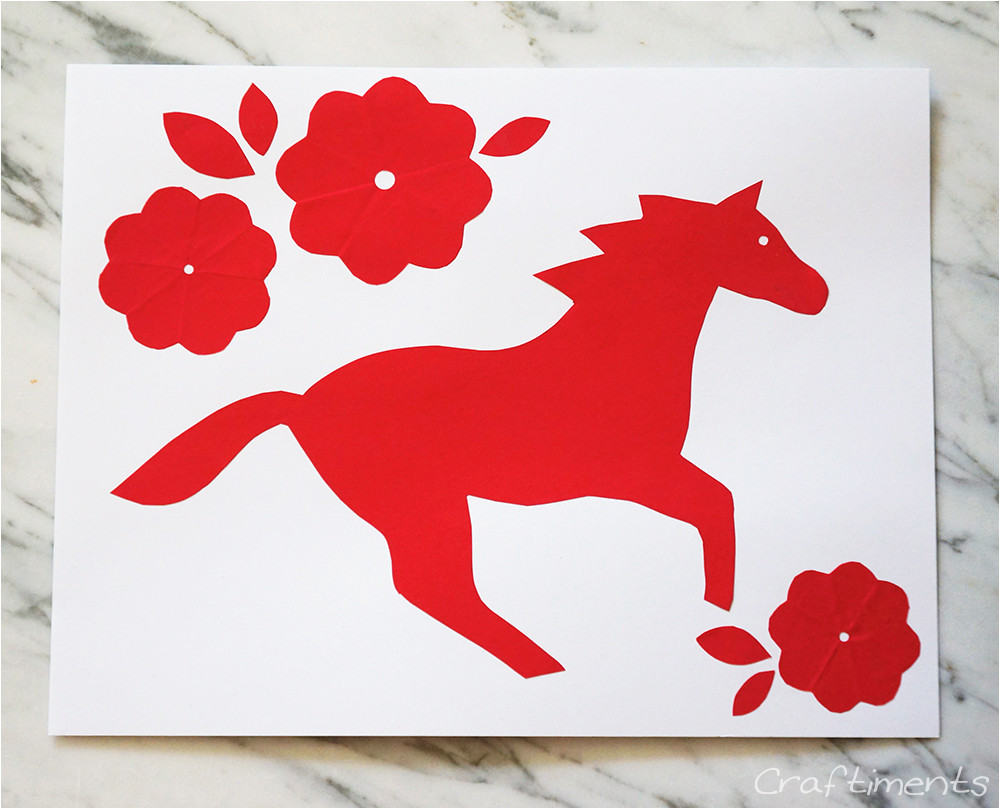 chinese new year paper cutting for kids