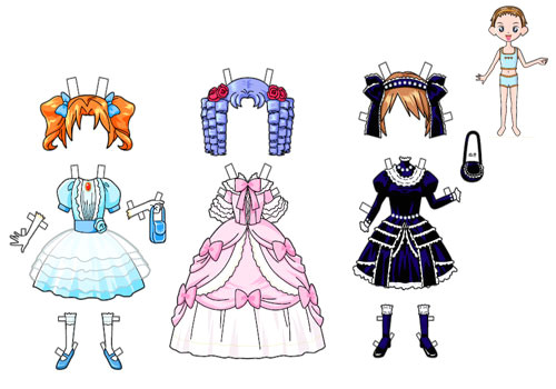 paper doll dresses printable dress up paper doll