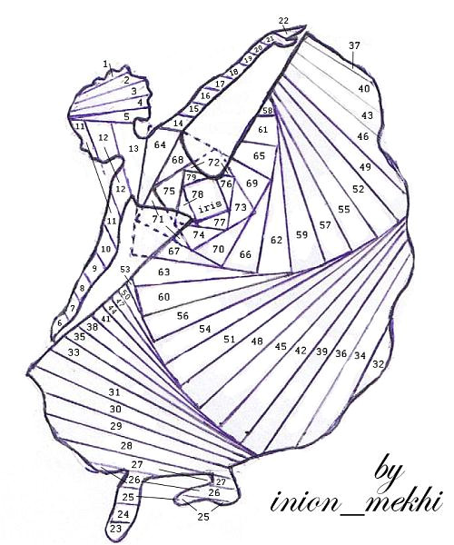 post iris folding designs 125423