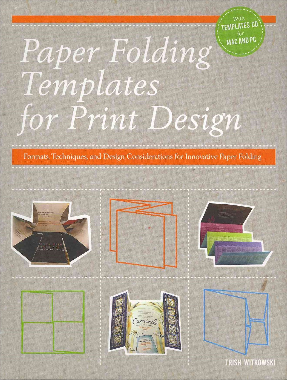 Paper Folding Templates for Print Design Paper Folding Templates for Print Design