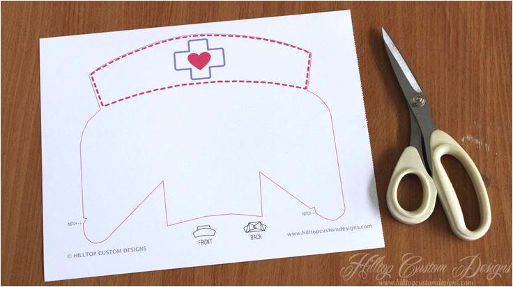 nurse cap drawing