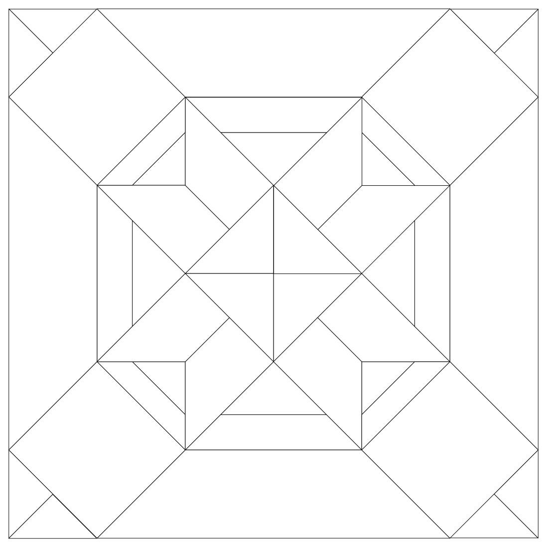 35 cool paper piecing patterns