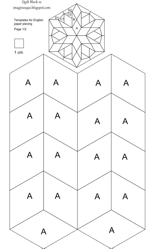 Paper Piecing Templates for Quilting 5 Best Images Of Printable English Paper Piecing Templates