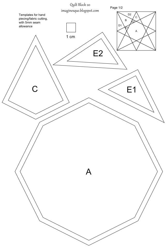 pwquilts skabeloner templates