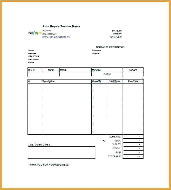 parking receipt template