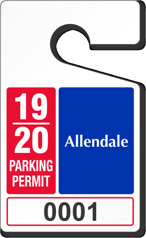 parking tags standard