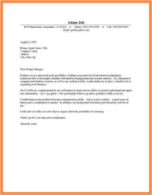 Part Time Cover Letters for Students Covering Letter for Part Time Job Letter Of Recommendation