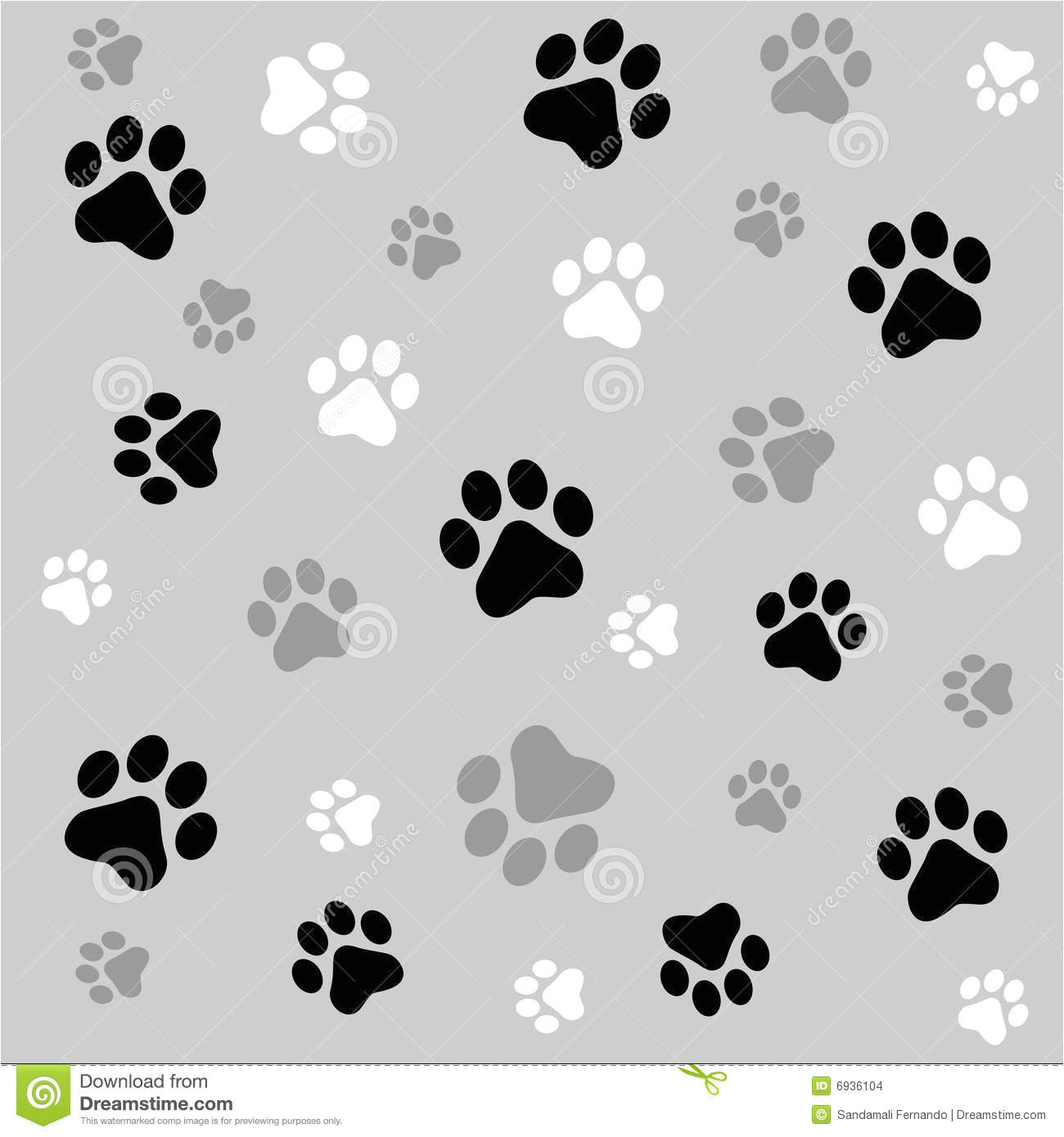 paw prints background stock images image 6936104 4530