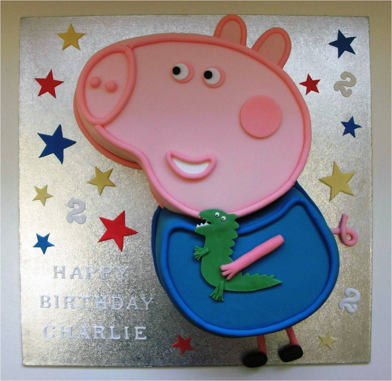 Peppa Pig Cake Template Free George Peppa Pig Cake Template Sampletemplatess