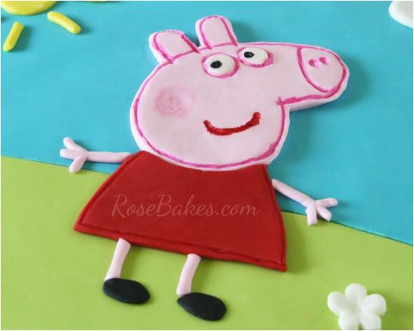 peppa pig template