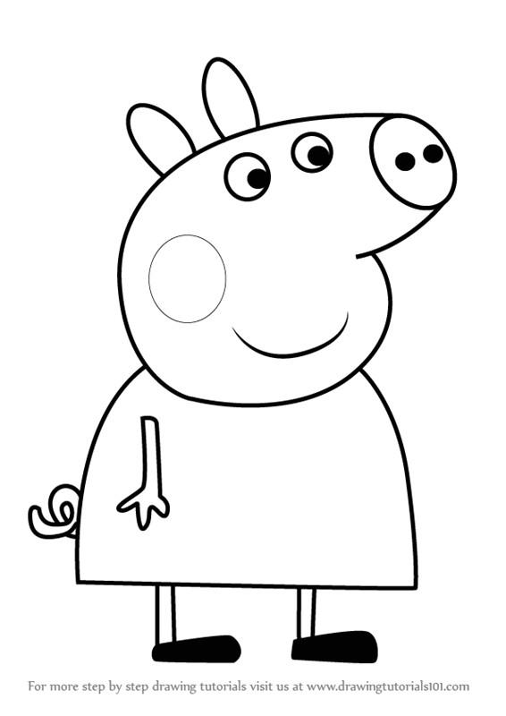 peppa pig drawing templates peppa pig kicsiknek