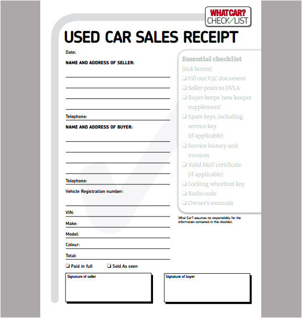 post personal sales receipt template 456551