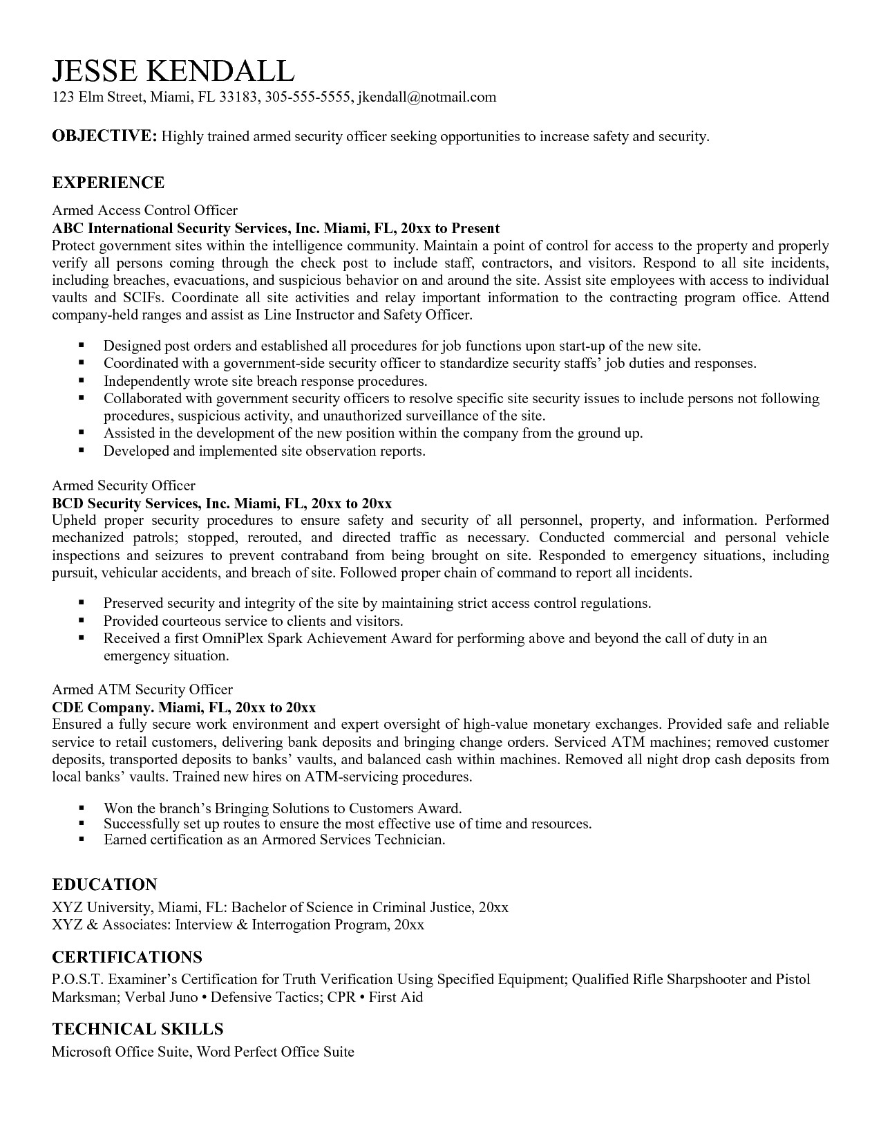 impressive personnel security specialist resume in personnel security specialist resume sample