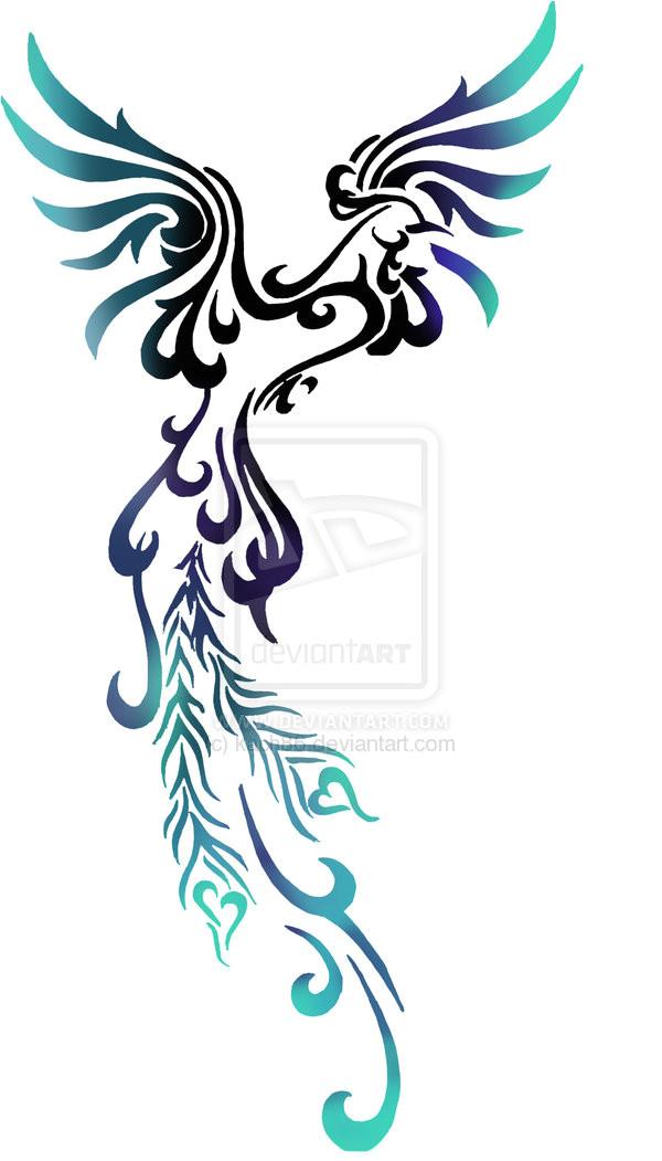 phoenix tattoo designs