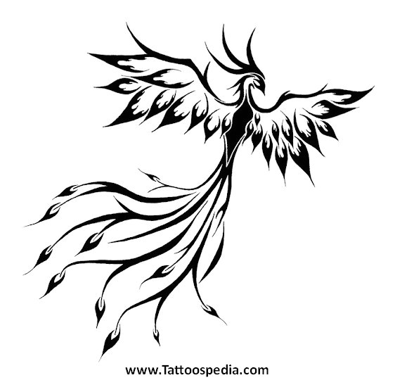 Phoenix Tattoo Template Phoenix Tattoo Template 2