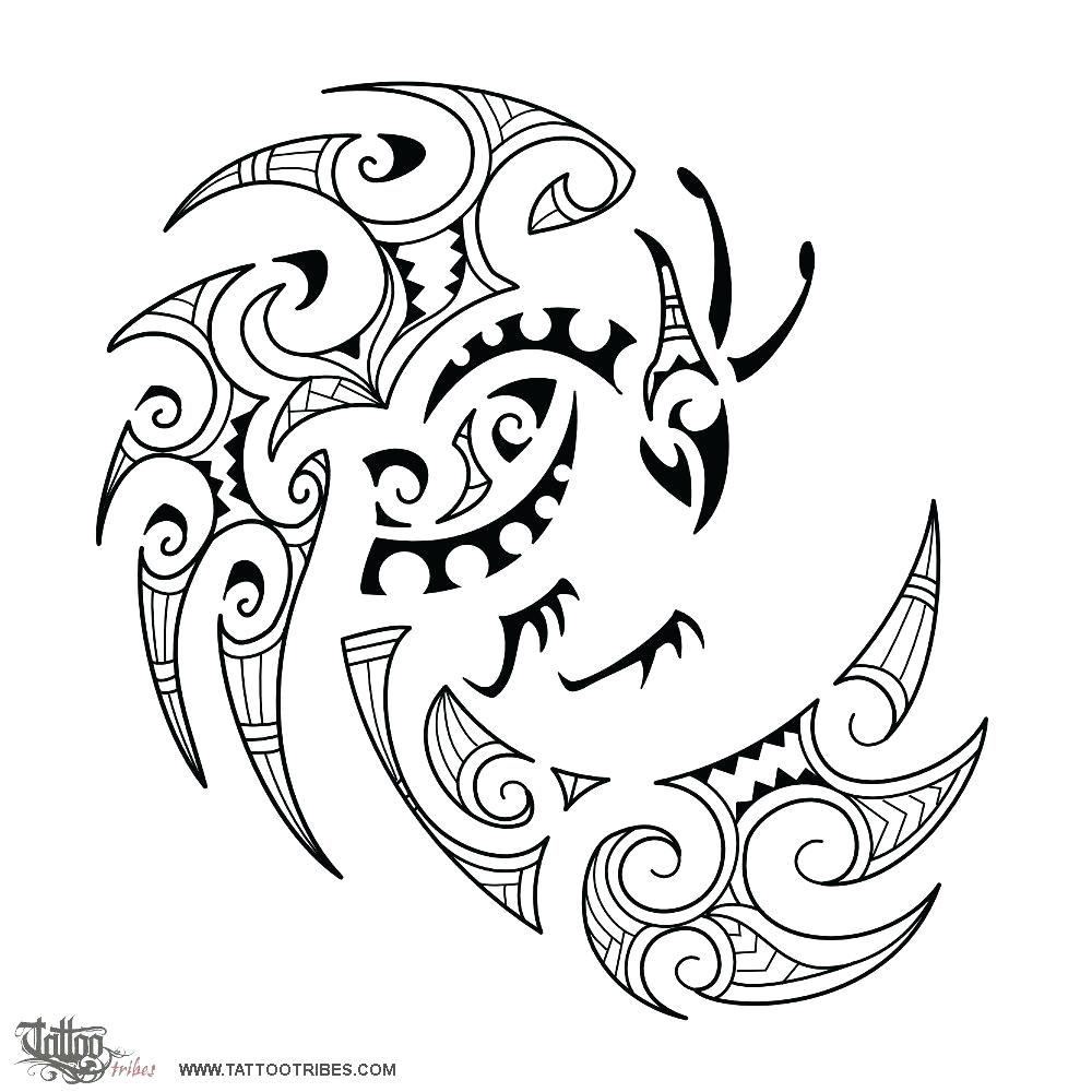 phoenix tattoo template