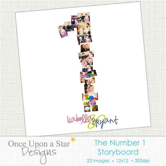 Photo Collage Number Templates 44 Best Digital Scrapbooking Fyi Images On Pinterest