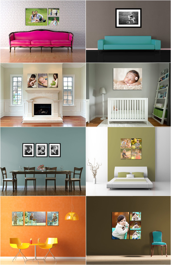 photographers wall display templates available now