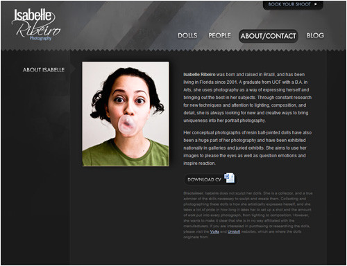 its all about me photographers about me pages