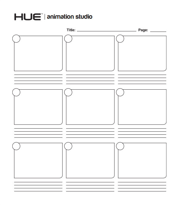 free storyboard templates