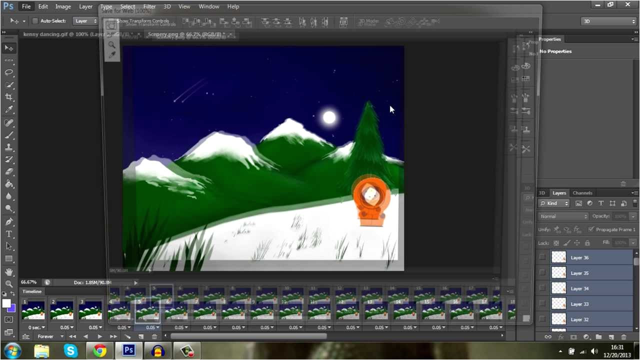 Photoshop Animation Templates solid Background for An Animation Gif Photoshop Cs6