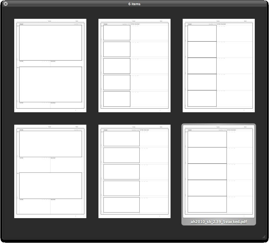 storyboardtemplate net