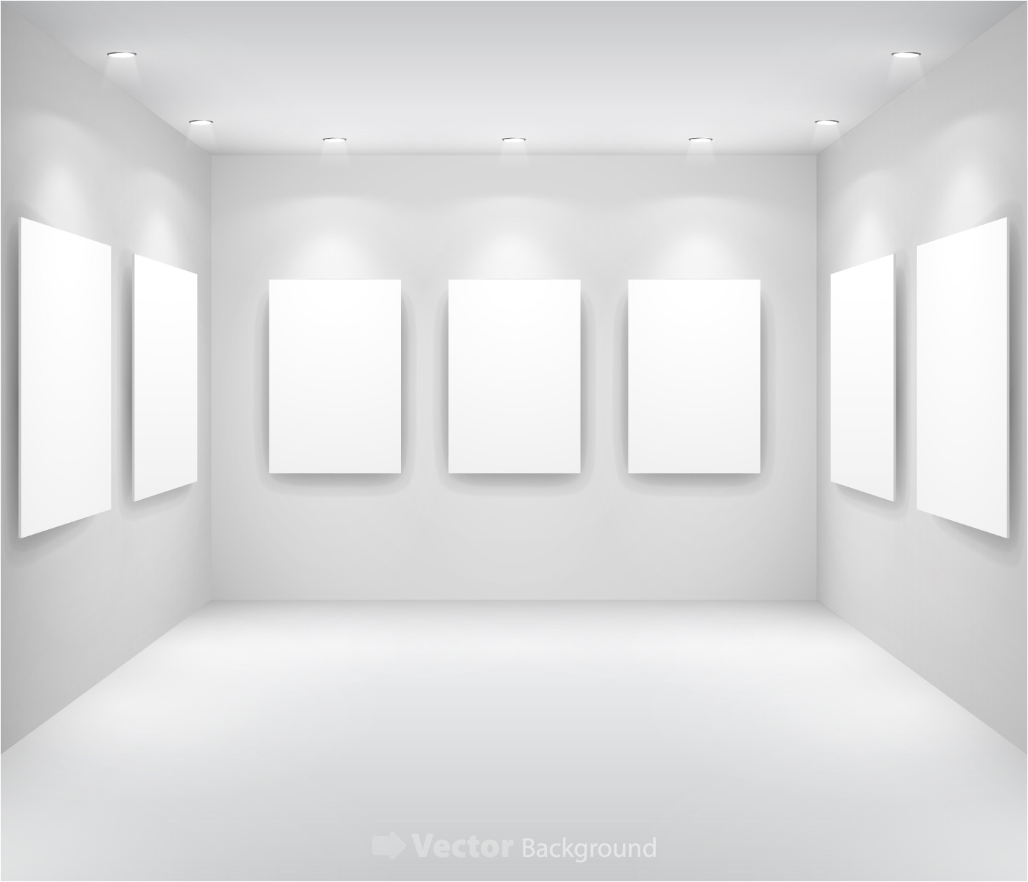 gallery display background 13 vector 16558