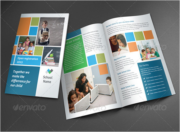 Photoshop Templates for Brochures 24 Useful School Brochure Templates Sample Templates