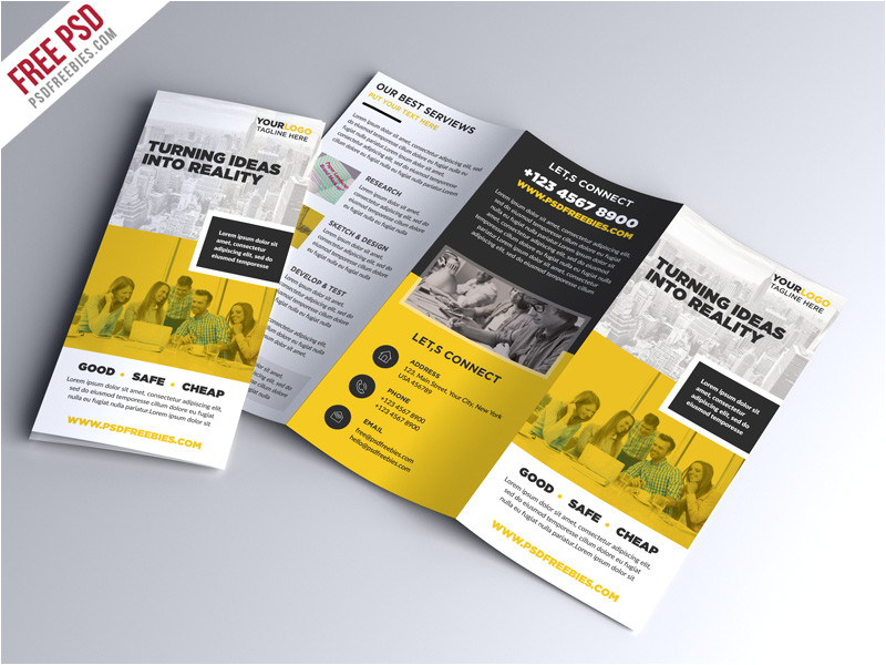 Photoshop Templates for Brochures 70 Premium Free Business Brochure Templates Psd to