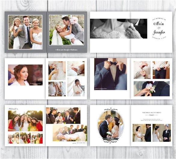 Photoshop Templates for Wedding Albums 41 Wedding Album Templates Psd Vector Eps Free