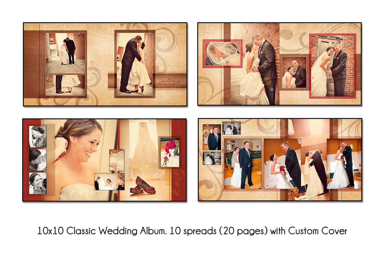 Photoshop Templates for Wedding Albums Psd Wedding Album Template Autumn Swirl 12×12 10spread 20