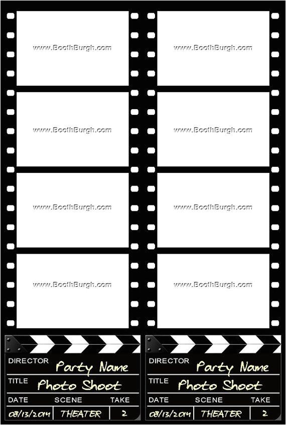 our photo strip templates