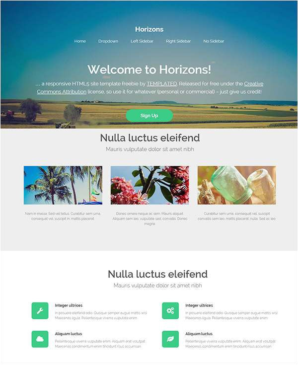 Php Homepage Template 35 Free PHP Website Templates themes Free Premium
