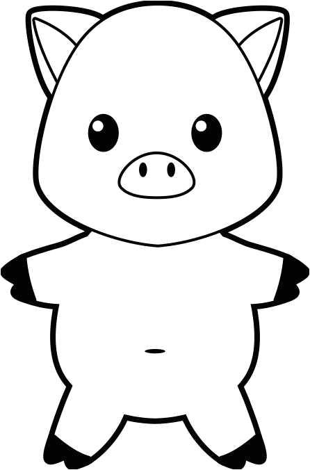 Pig Template for Preschoolers Pig Template for Preschoolers Clipart Best