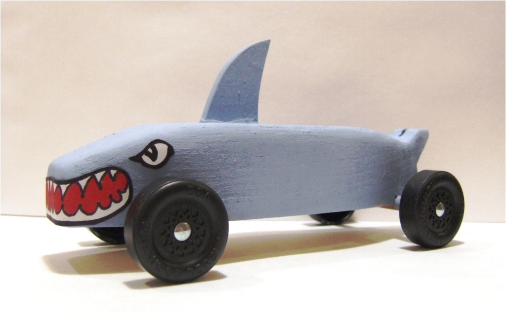 Pinewood Derby Shark Template Photo Gallery Of Shark Pinewood Derby Cars Boys 39 Life