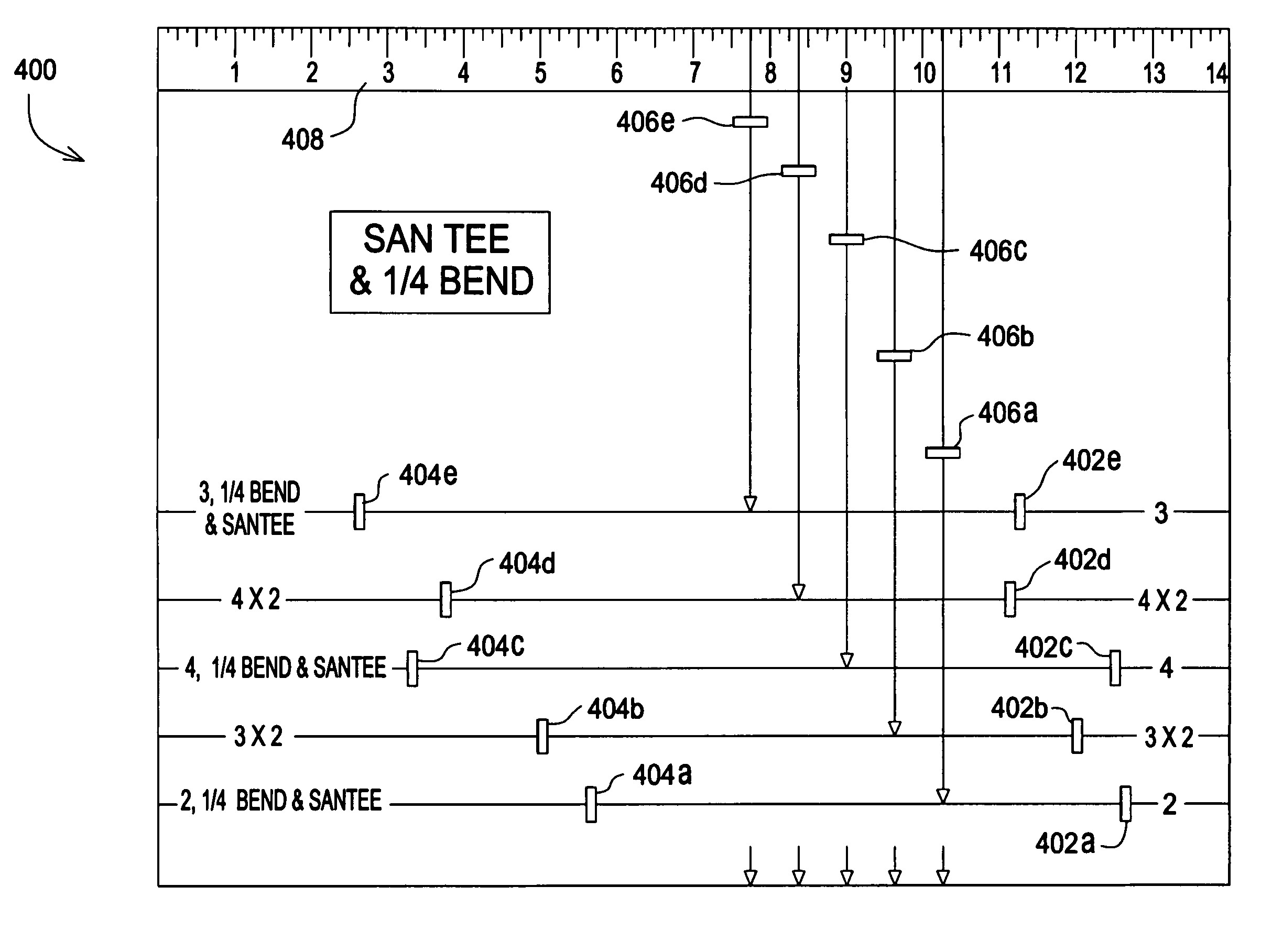 Pipe Fitting Templates Patent Us7685734 Pipe Fitting Template Google Patents