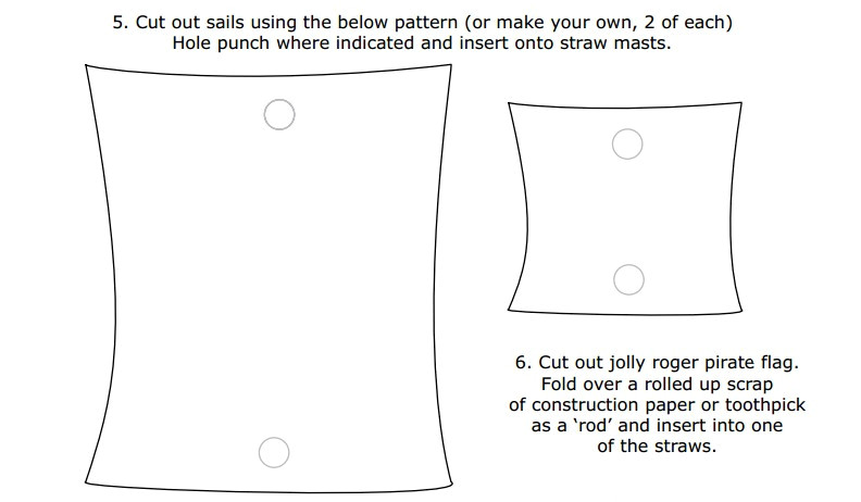 Pirate Ship Sails Template 5 Best Images Of Printable Picture Of A Sail Simple