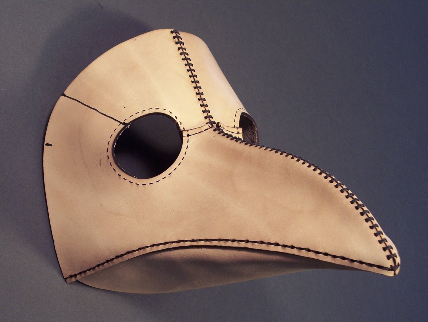 Plague Doctor Mask Template tom Banwell Leather and Resin Projects Plague Doctor Mask
