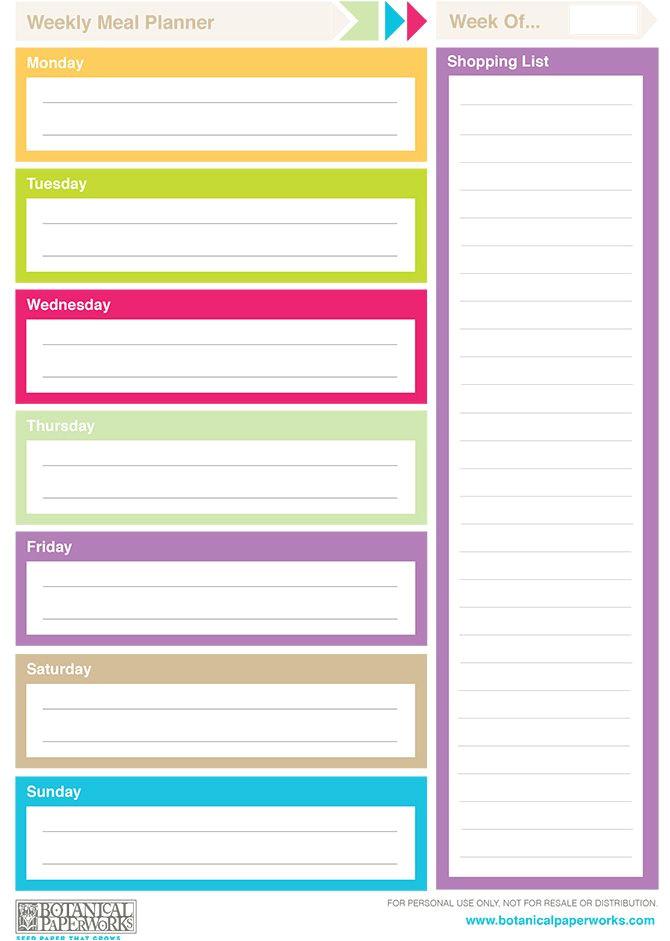 Planning Calendars Templates Free Printable 2014 Weekly Planners Free Printables
