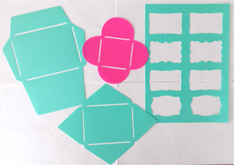 templates stencils for envelopes labels