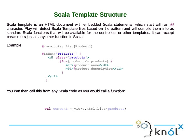 Play Scala Template Play Template Engine Based On Scala