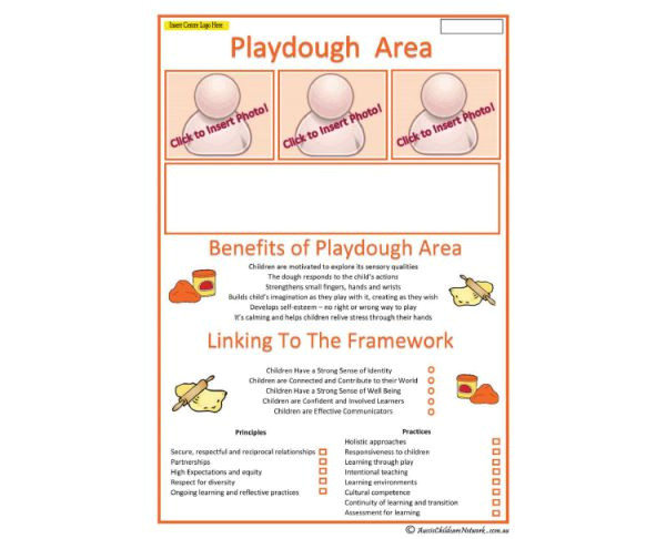 Playdough Templates Interest area Playdough Play Aussie Childcare Network