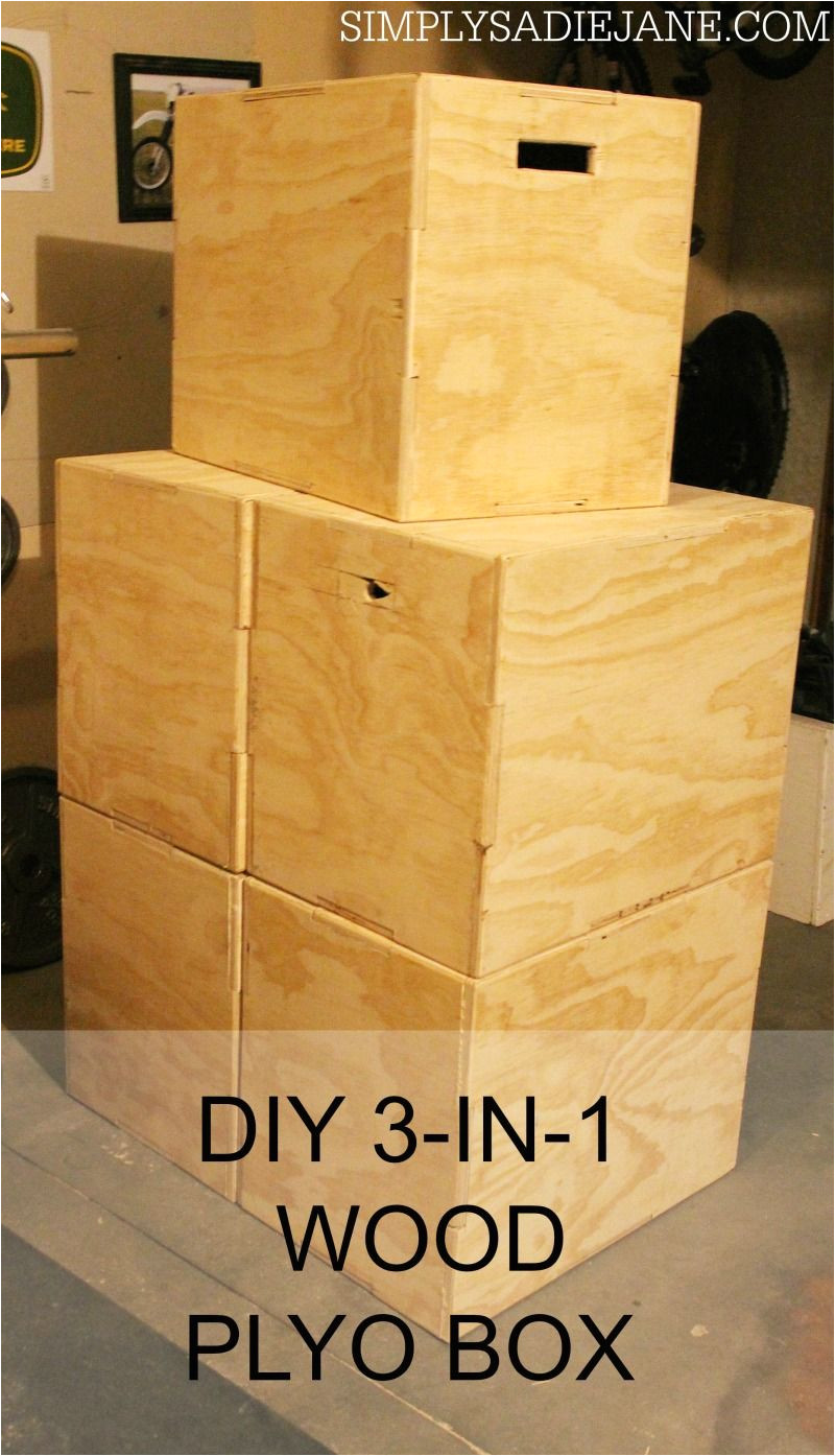 Plyo Box Template Build Your Own 3 In 1 Wood Plyo Box for Under 40 Www