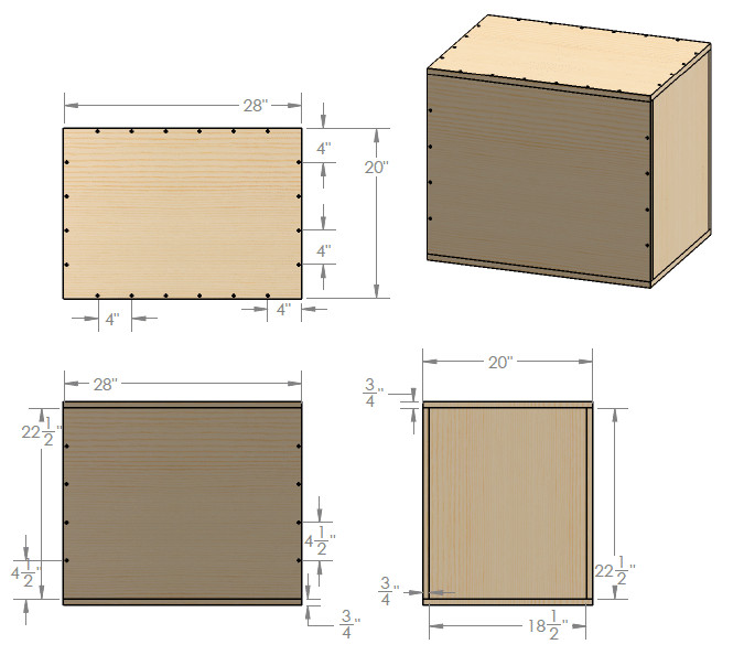 Plyo Box Template How to Make A 3 In 1 Plyometric Box the Art Of Manliness