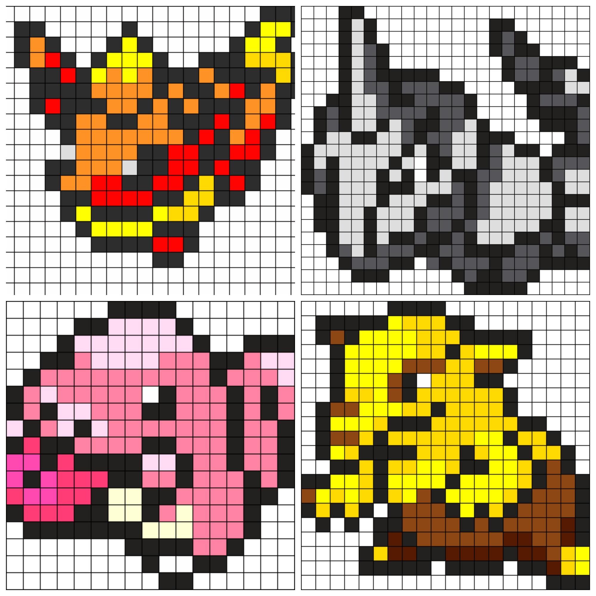 Pokemon Perler Bead Template Pokemon Go Perler Bead Patterns