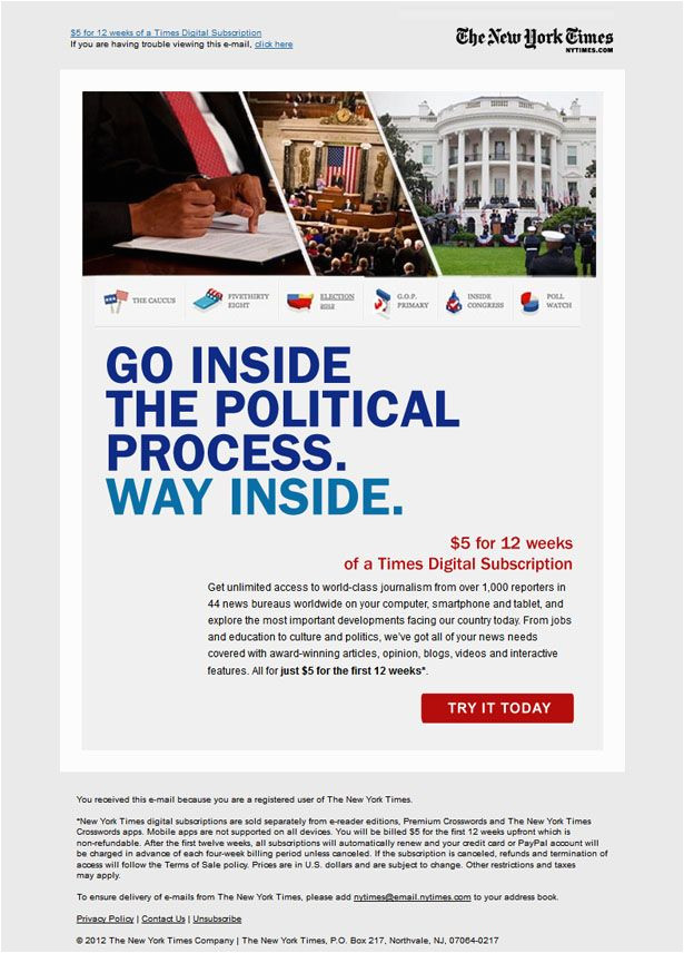 political newsletter template 16 best responsive email template design service images on pinterest