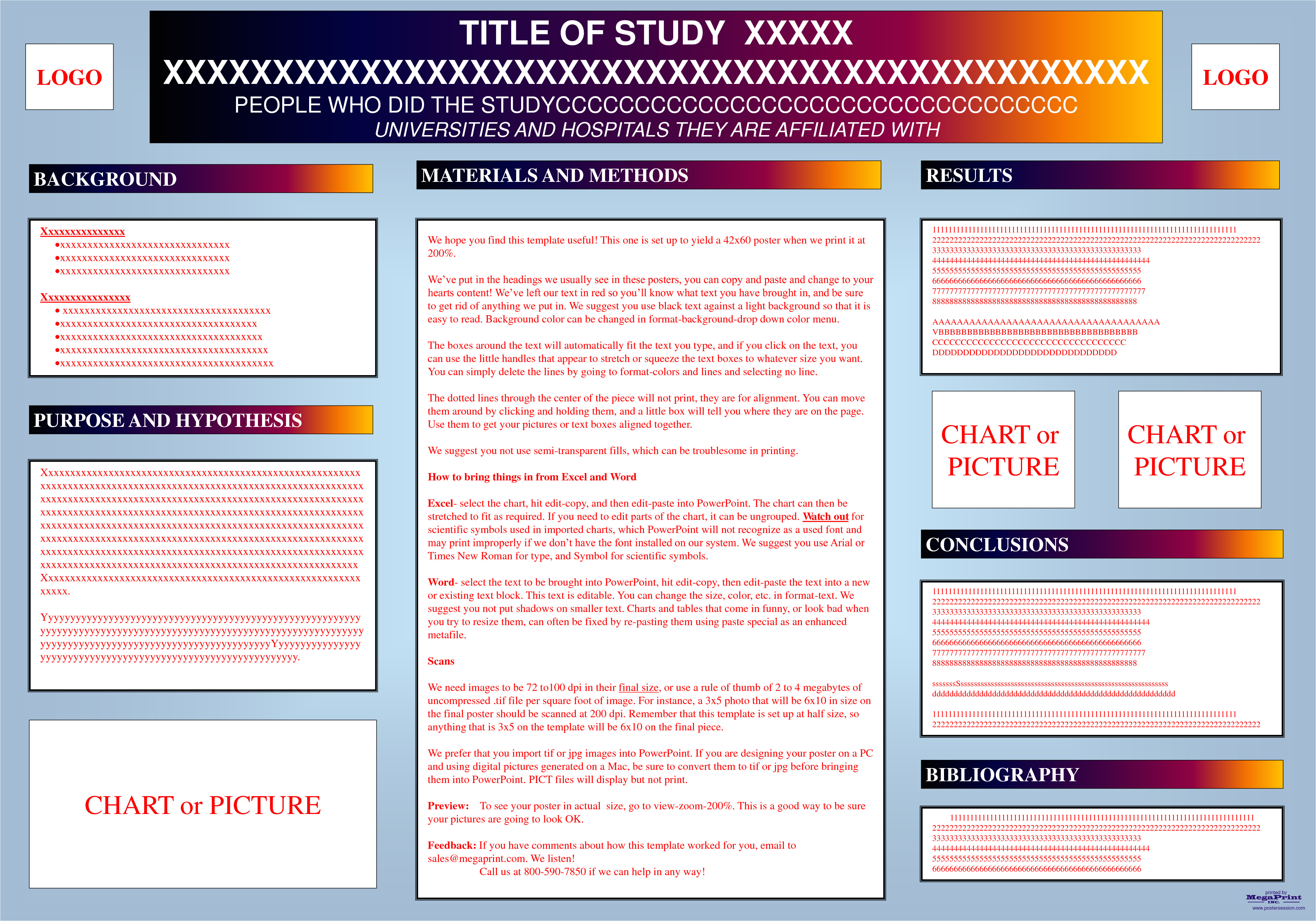 post academic research poster presentation templates 481054