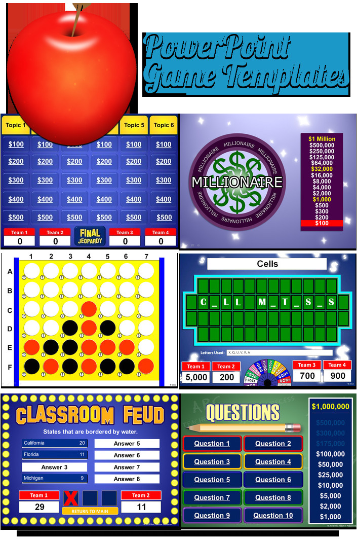 Power Point Game Templates Powerpoint Game Templates Best Teacher Resources Blog