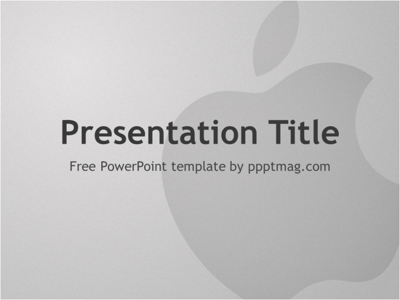 apple powerpoint template