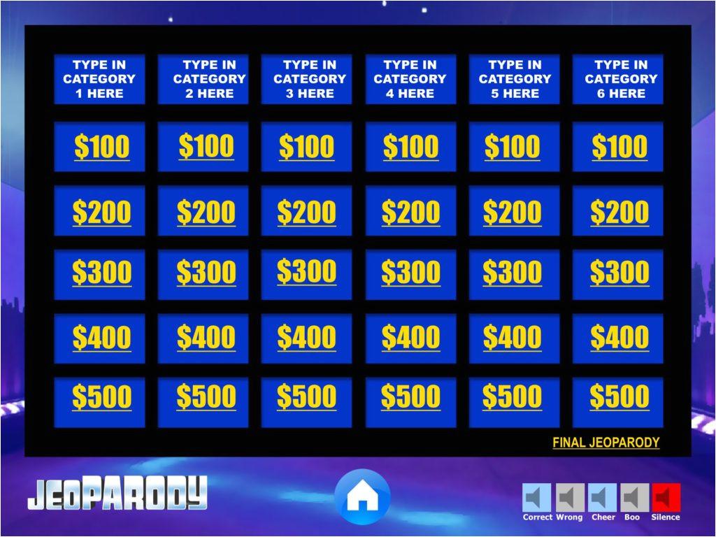 jeopardy board 2014